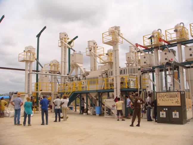 Nhà máy xay xát Bùi Văn Ngọ - Địa điểm: DRC Congo